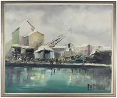 Industrial Oil Painting, 1960s
