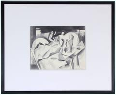 Schuyler Standish, 20th Century Graphite on Paper