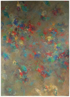 """""""Cacophony"""", Large Oil Abstract, 1998"""