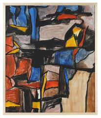 Mid-Century San Francisco Abstract Expressionism