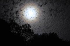 """Clair de Lune (Moonlight)"" Mendocino, CA Photograph, 2012"