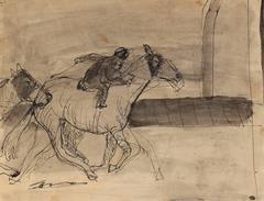 Horse Race in Ink