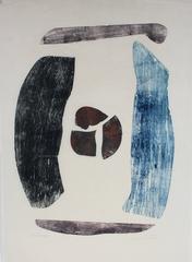 """""""Stonehenge"""" Woodblock Print"""