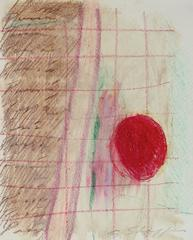 Abstract Expressionist Study in Pastel, 1970