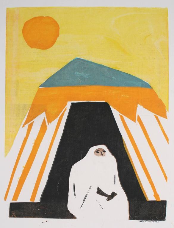 Veiled Woman Under the Sun