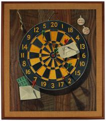 """Coin of the Realm"" Realist Dart Board"