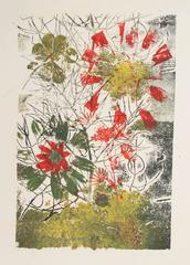 Abstracted Floral Monotype, 1963