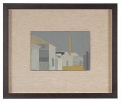 """""""Pier 70, No. 1"""" San Francisco Industrial Scene"""