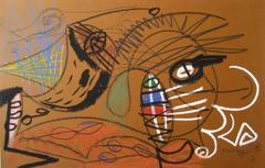 Surrealist Abstract in Pastel