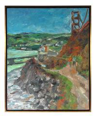 Golden Gate Bridge and Hillside