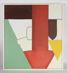 """""""Delphi"""" Abstract Oil Painting, 1990"""