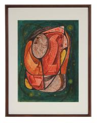 Mid Century Abstracted Figure