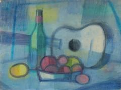 """Blue Guitar #2"" Still Life"