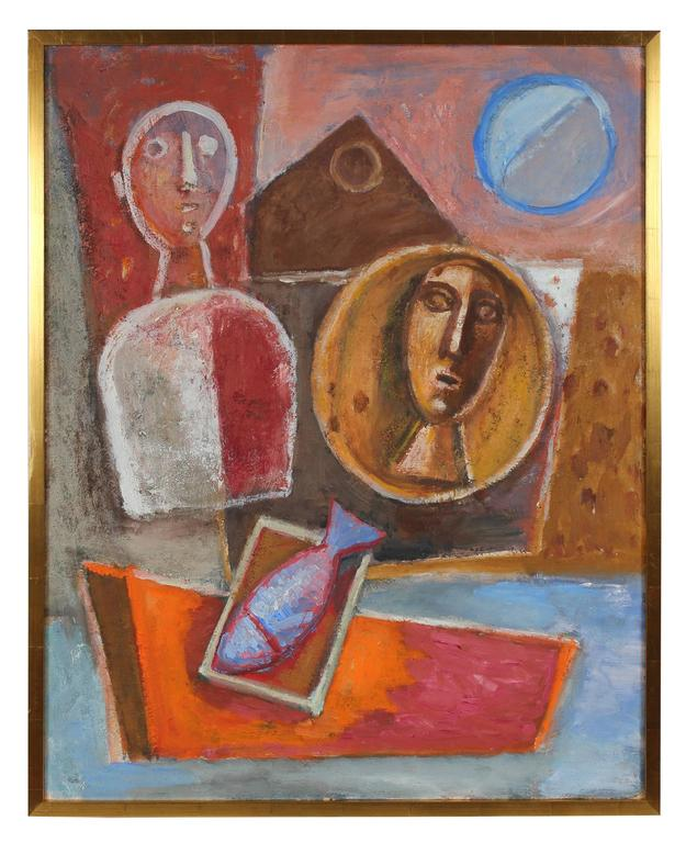 Gerald Wasserman - Cubist Relief Abstract 1