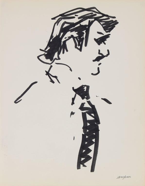 Pasquale Patrick Stigliani - Portrait of a Man in a Tie 1