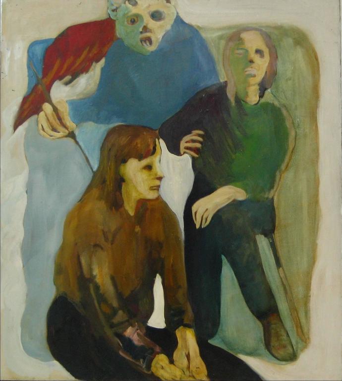 Alysanne McGaffey - Bay Area Figurative Portrait 1