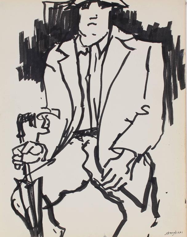 Pasquale Patrick Stigliani - Man on the Subway, New York 1