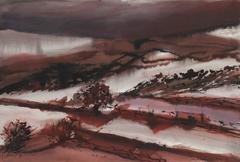 Winter Landscape in Burgundy