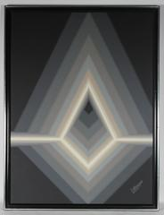 Grayscale Geometric Abstract