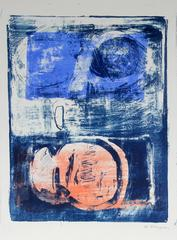 Large Abstract Lithograph