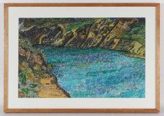Coastal Landscape Painting, Circa 1960s