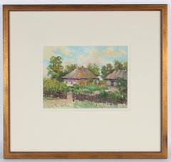 Soviet Impressionist Cottages