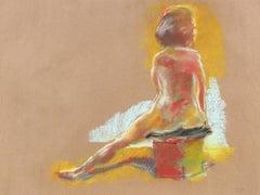 Figure Study in Pastel, 1970