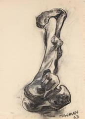 Still Life of a Bone in Charcoal, 1963