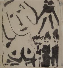 Modernist Figures in Ink