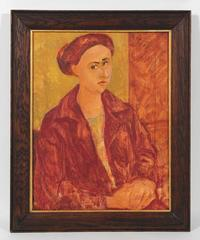 Seated Portrait of Ethel Weiner Guttman