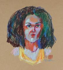 Bright Pastel Portrait