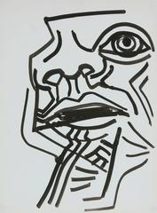 Modernist Abstracted Portrait