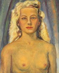 Portrait of a Blonde Woman