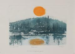 """Arctic Sun"" Lake Scene, 1981"