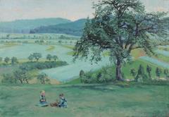 European Impressionist Landscape