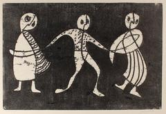 Three Monochromatic Figures