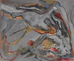 Expressionist Study in Gray