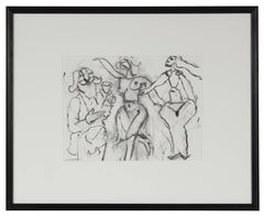 Three Abstracted Figures