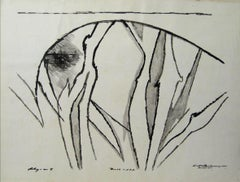 Modernist Abstract in Ink