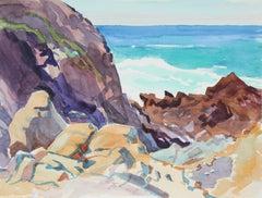 """Rocks and Seascape"" Carmel, CA"