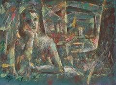 """""""September"""" Cubist Portrait"""