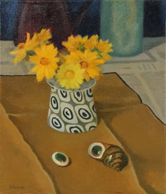 """Operculae"" Still Life with Flowers, 1973"