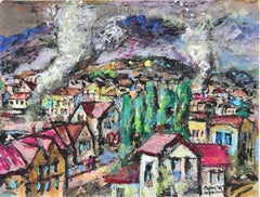 """Yugoslavia"" Pastel and Gouache, 1946"