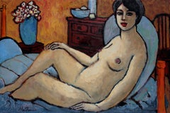 """""""Classical Tradition"""" Female Figure in Oil, 2003"""