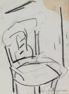Still life with Chair, Pastel on Paper, 1958