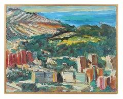 """""""Les Petites Boites"""" (Little Boxes) Oil on Canvas, 2004"""