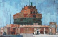 """""""Rome"""" Oil on Linen, 1971"""