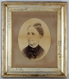 Antique Portrait Photograph of a Woman
