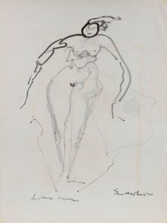 1960's Figurative Drawing