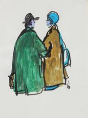 Two Women in Coats